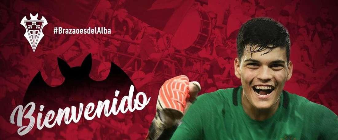 Brazao rejoint Albacete. Twitter/AlbaceteBPSAD