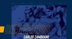 Zambrano, nuevo jugador de Boca Juniors. Twitter/BocaJrsOficial