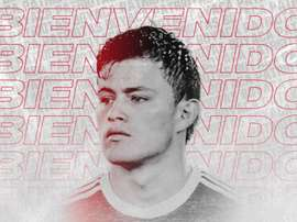 Huérfano has moved clubs. Twitter/patriotasboySA