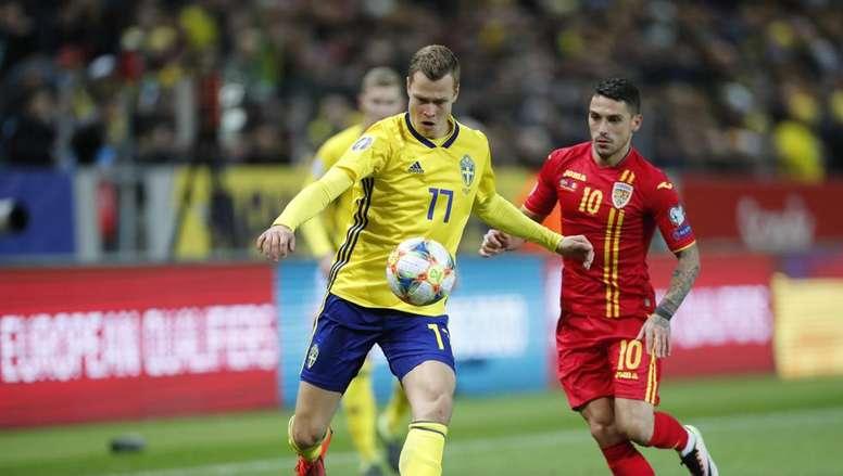 Claesson fue uno de los goleadores del partido. EFE