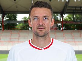 Christian Gentner, nouveau joueur de l'Union Berlin. Twitter/fcunion
