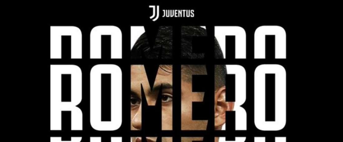 Cristian Romero já é uma realidade 'bianconera'. JuventusFC