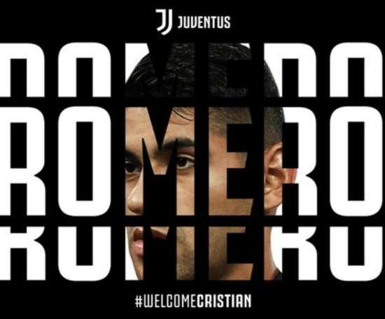La Juventus enrôle Cristian Romero. JuventusFC