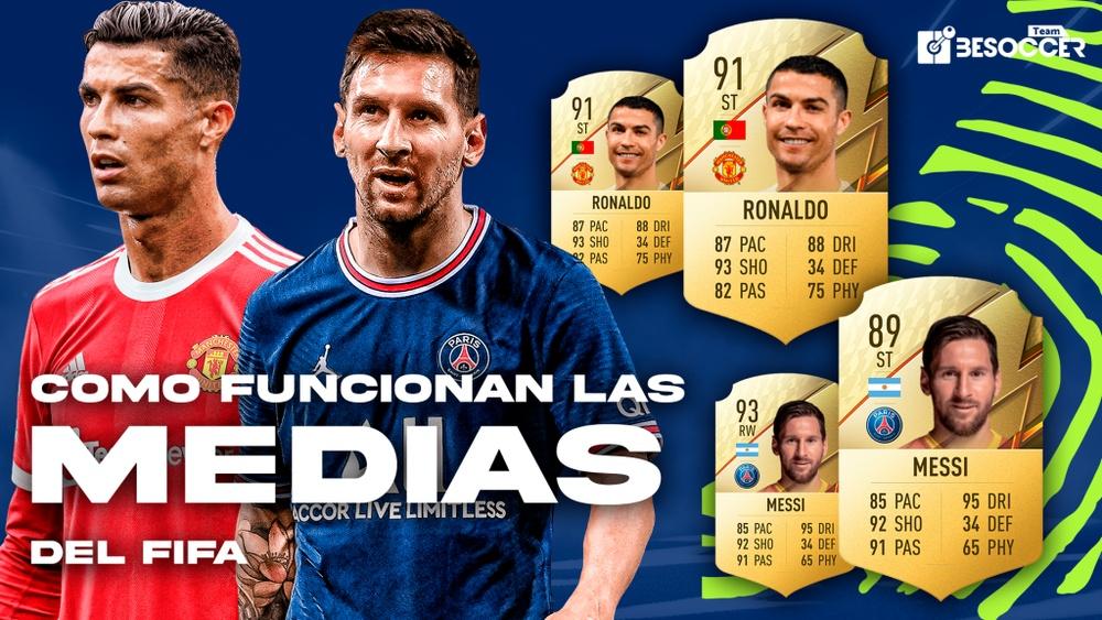 Imagen de Cristiano Ronaldo y Leo Messi. Team BeSoccer