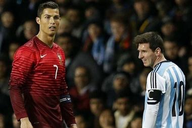 Une étude soutient que Messi est doublement plus efficace que Cristiano. AFP