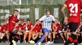 Dani Rodríguez espera un partido duro en el Coliseum. MálagaCF