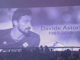 Astori was remembered at the Parc des Princes. ESPN