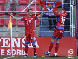 David Rodríguez marcó el primero del partido. LaLiga