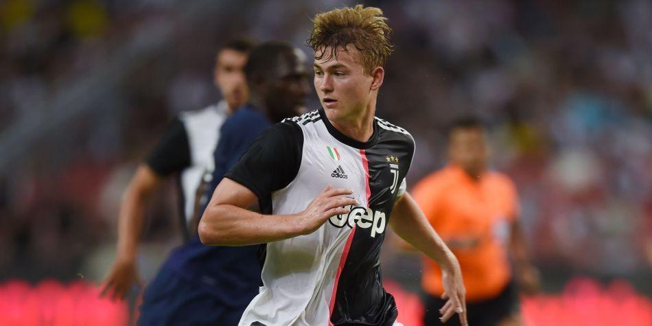 International : Juventus : De Ligt étonné d'être remplaçant