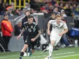 Argentina busca empate fora de casa contra a Alemanha. Twitter/Argentina