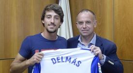 Delmás renovó su contrato hasta junio de 2023. RealZaragoza