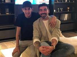 Di María y Lavezzi volvieron a verse. Instagram/pocho22lavezzi