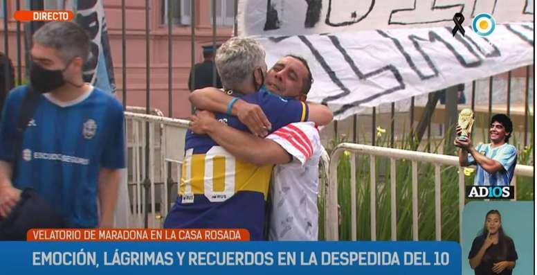 Le rivalità sportive messe da parte in Argentina. TVPublica