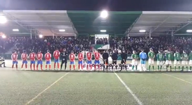 Lío en la Copa del Rey: sonó el himno... ¡pero el franquista! Twitter/SalvaGJim