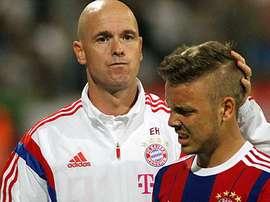 Erik Ten Hag est le préféré de l'actuel président de l'Ajax Uri Coronel. FCBayern