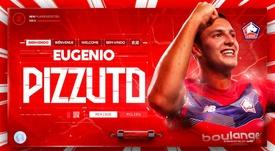 El italomexicano Pizzuto ficha por el Lille. Twitter/losclive