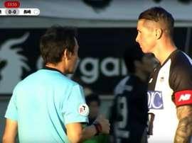Torres showed his dark side. Screenshot/SportTV