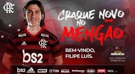 Actualidad del mercado de fichajes a 23 de julio de 2019. Twitter/Flamengo