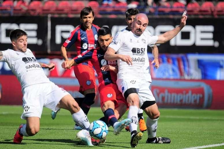 Central Córdoba sorprende y golea a San Lorenzo. SanLorenzo