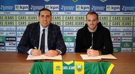 Leicester loan Thomas to ADO Den Haag. ADODenHaag