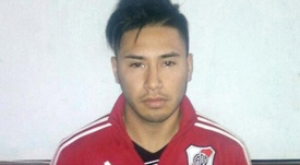 Imagen de Gonzalo Aguirre, jugador de Belgrano. Twitter