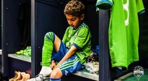 El Borussia tendrá enfrente... ¡a un portero de ocho años! Twitter/SeattleSounders