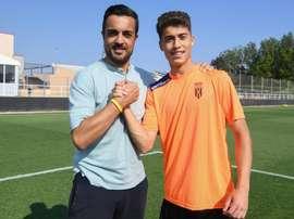 Iago Carracedo llega del Deportivo Fabril. Twitter/GironaFC
