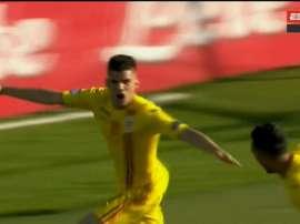 La Roumanie écrase une Croatie timide. Capture/ESPN