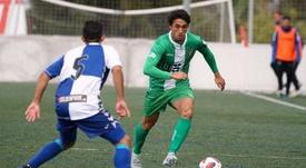 Vilarrasa interesa al Girona. Twitter/UE_Cornella