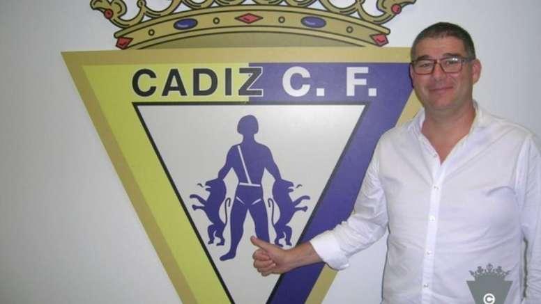 Javier Manzano dice adiós al Cádiz. Twitter/Cadiz_CF
