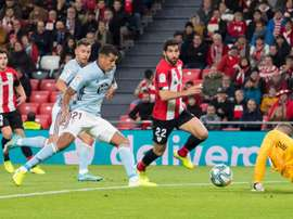 Athletic y Celta empataron en San Mamés. Twitter/AthleticClub