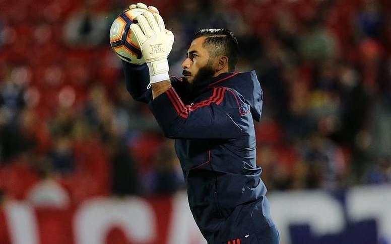 Herrera se reivindicó ante Deportes Iquique. AFP