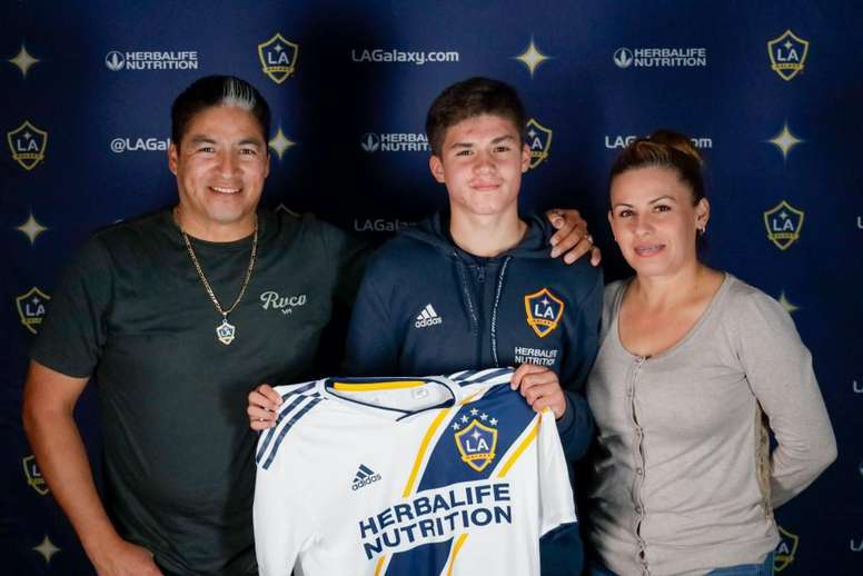 The youngster will join the first team. LAGalaxy