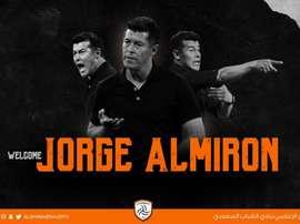 Jorge Almirón ya tiene nuevo club. Twitter/AlShababSaudiFC