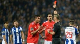 Menaces de mort à l'encontre de l'arbitre de Benfica-Santa Clara. AFP