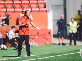 Carlos Cordero, encantado con el paso de José Alberto. RealSporting