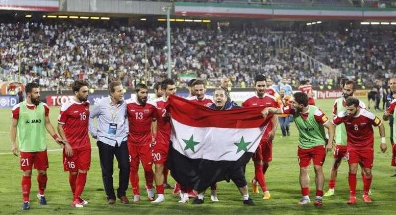 Siria sigue viviendo un sueño gracias a su selección. EFE