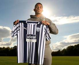 Karlan Grant has signed for West Brom. Twitter/WBA