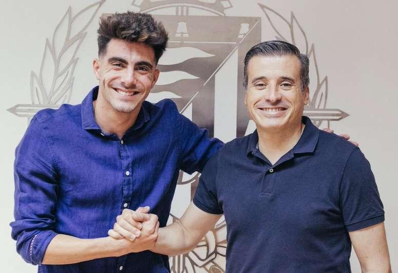 Valladolid lève l'option d'achat de Kike Pérez. RealValladolid