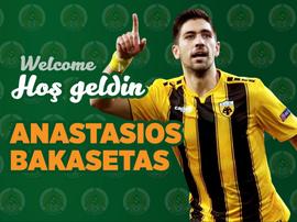 Bakasetas signe jusqu'en 2022. Twitter/Alanyaspor