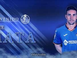Mata passe de Valladolid à Getafe. Getafe