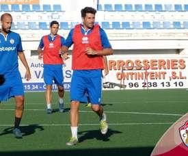 Felip llega procedente del Atlético Saguntino. Twitter/OntinyentCF