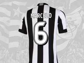 Image du maillot de Botafogo avec le numéro de Marcelo. Twitter