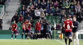 Osasuna venció por la mínima en Elche. LaLiga