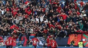 Osasuna mostró su mejor versión ante el Albacete. LaLiga