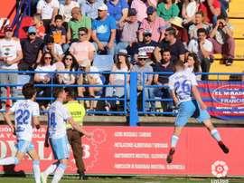 El Zaragoza superó con claridad al Extremadura. LaLiga