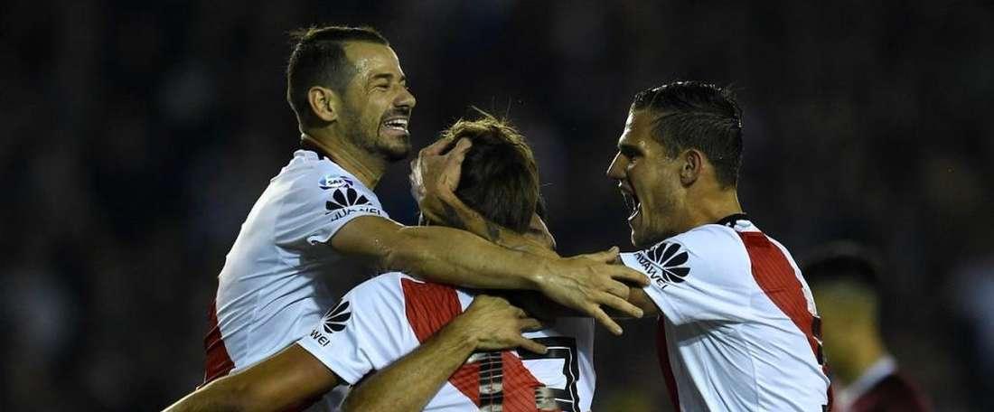 Nuevo triunfo para los de Gallardo en la Superliga. RiverPlate