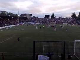El Osorno celebró por todo lo alto el ascenso a Segunda. Youtube