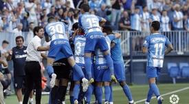 El Málaga venció con mucha claridad al Elche. LaLiga
