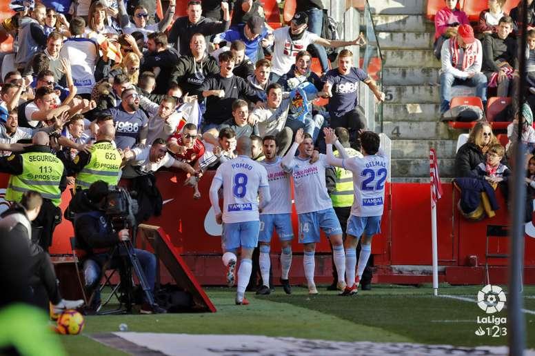 El Zaragoza lleva 29 goles. LaLiga